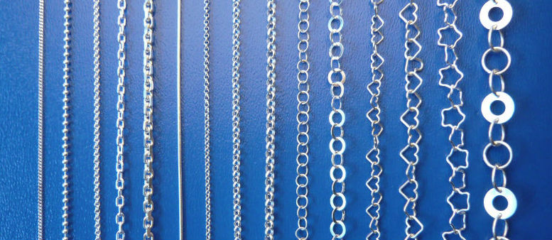 Silverkedjor till Älskade Barns smycken. Halskedjor äkta silver